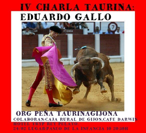 charla eduardo gallo