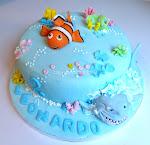 torta Nemo e lo squalo