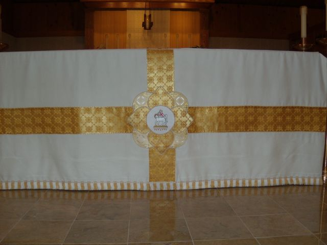 Catholic Embroidery Project Easter Altar Frontal