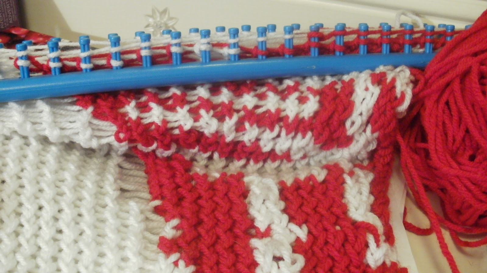 Crocheting On A Loom : Comments and rants from a formerly Bitter Gen-Xer: Prowl Baby Blanket ...