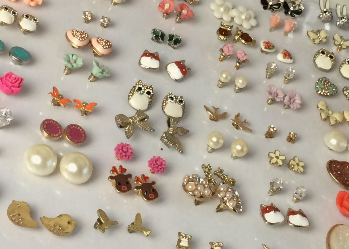 DIY: quick and easy earring storage solution | flutter and ...