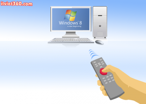 Remote Desktop trên Windows 8