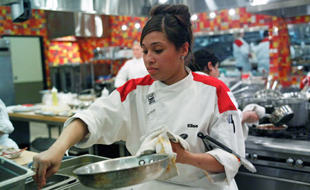 elise wims hells kitchen season 9 - Hells Kitchen Season 9