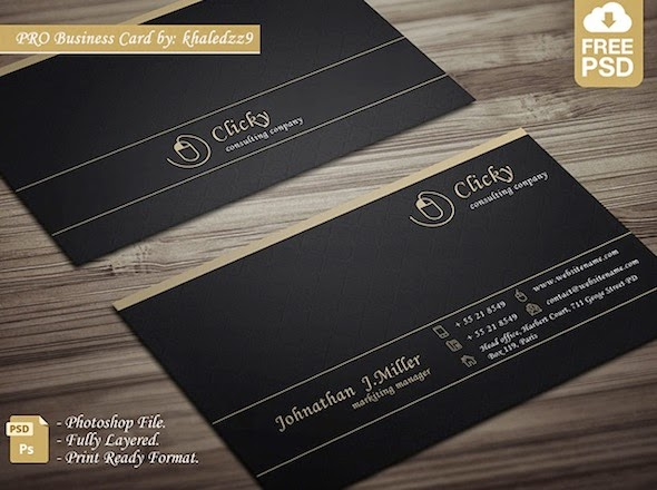 Latest free psd templates business cards dezignhd best source free professional business card reheart Image collections