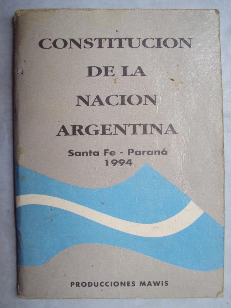 constitucion de la nacion argentina pdf