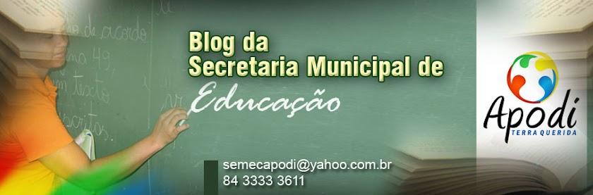 Secretaria Municipal de Educação - Apodi/RN