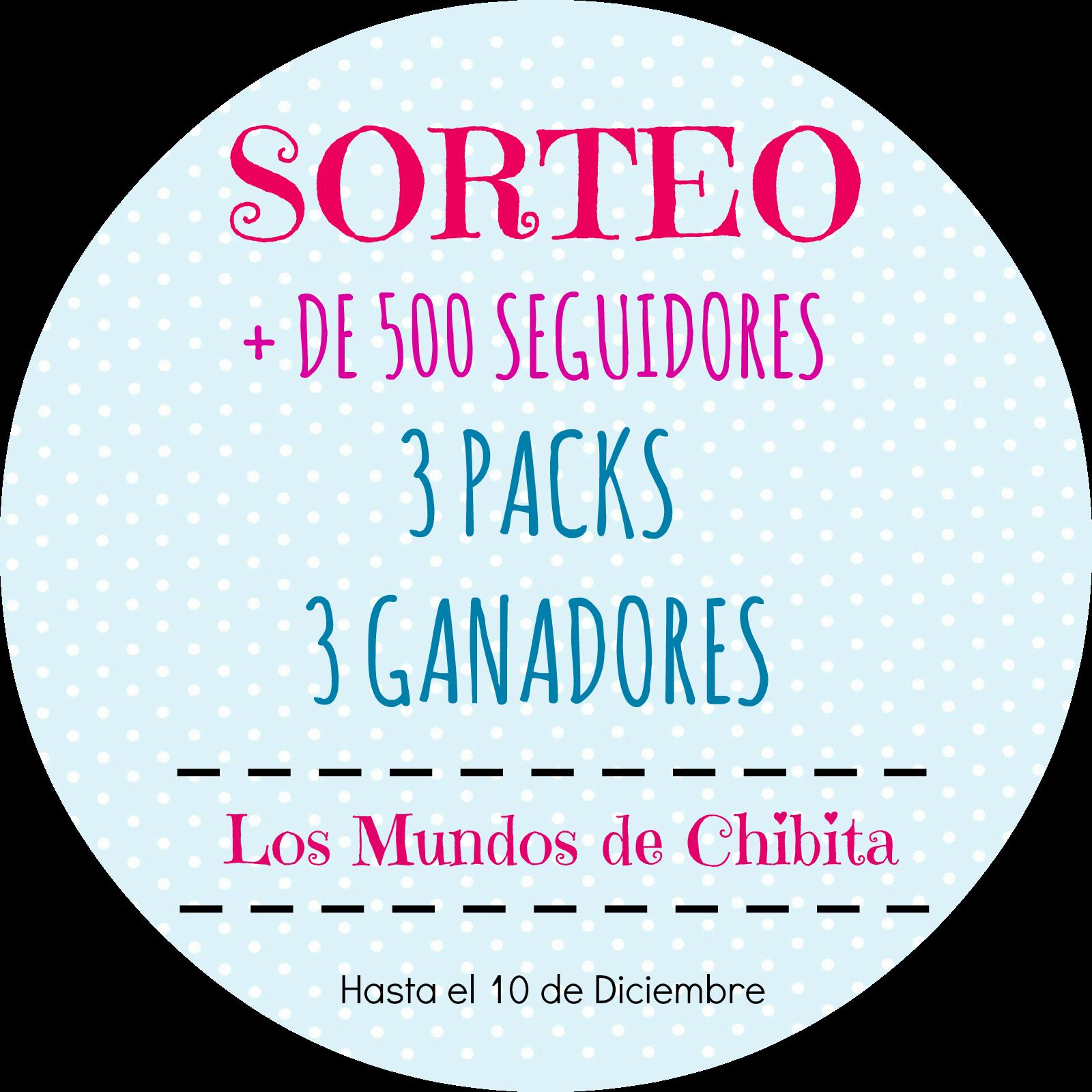 """Sorteo de 3 packs en """"Los mundos de Chibita"""""""