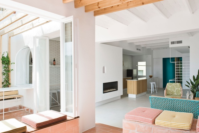 Ilia estudio interiorismo dise o y est tica en el interiorismo de este apartamento en barcelona - Estudios de interiorismo en barcelona ...