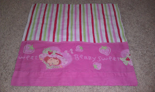 Strawberry Shortcake Pillow Case Dress
