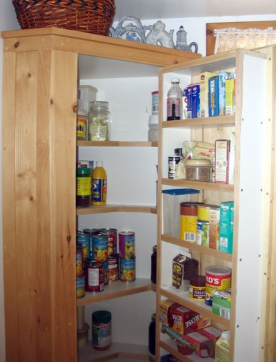 various common plans and ideas for kitchen pantry cabinets
