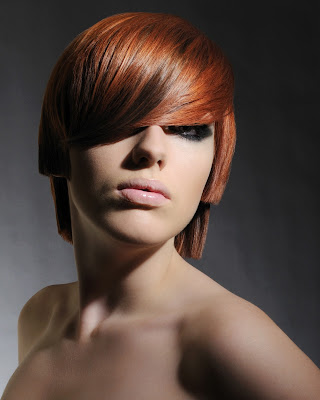Redhead, L'Oreal Colour Trophy, Red Hair, Hairdressers Photography, Portfolio