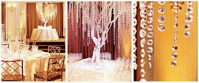 Brilliant Swarovski Crystal Wedding Decorations