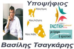 Υποψήφιος στις εκλογές του επιμελητηρίου Λέσβου
