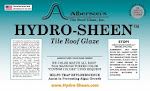 Hydro-Sheen Tile Roof Glaze