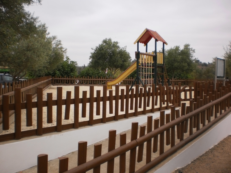 Parque Infantil da praia fluvial da Mina de São Domingos