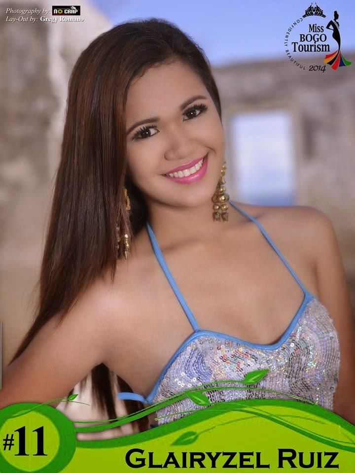 Glairyzel Ruiz  - Miss Bogo Tourism 2014