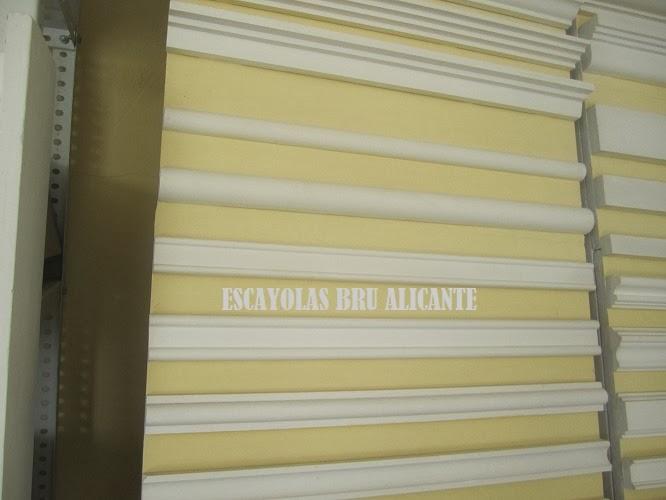 Escayolas bru alicante cenefas baquetones - Molduras de escayola ...