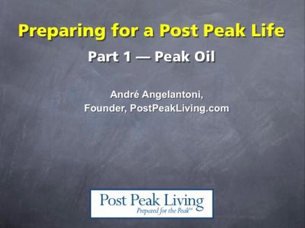 Grundkurs i Peak Oil