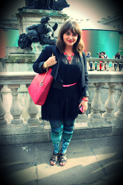 London Fashion Week blogger style