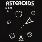 "Asteroids ""Old School"" T-shirt"