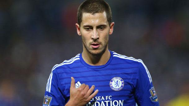Eden Hazard no dejará el Chelsea a no ser que se vaya al Madrid