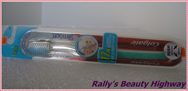 Review the new Colgate SlimSoft toothbrush