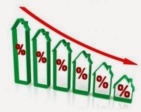 Recul des taux du prêt immobilier