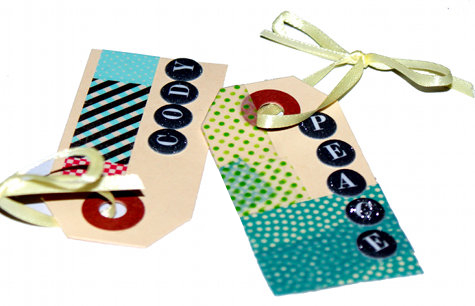 DIY Washi Tape GIft Tags - Easy Washi Tape Craft Project Idea