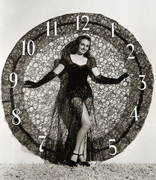 1940s New Year!! with Donna Reed #1940s #new #year #vintage