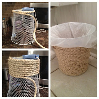 diy waste baskets