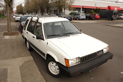1983 Toyota Tercel SR5 AWD Wagon.