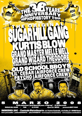 sugar hill - kurtis blow - grand master - posters