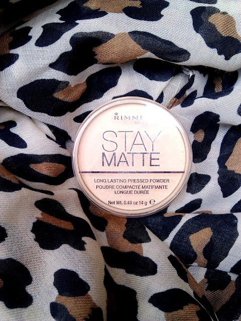Puder Rimmel Stay Matte