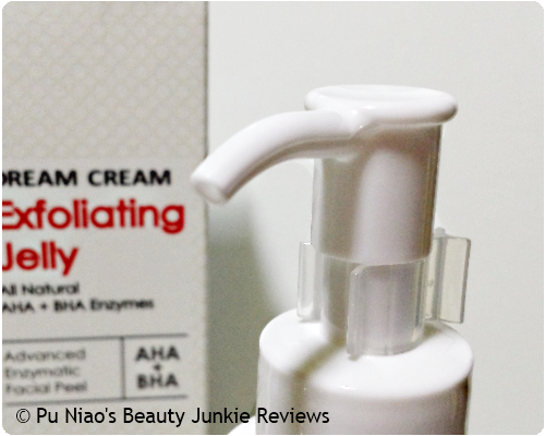 BeautyBiotics Dream Cream Exfoliating Jelly