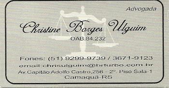 Christine Borges Ulguim