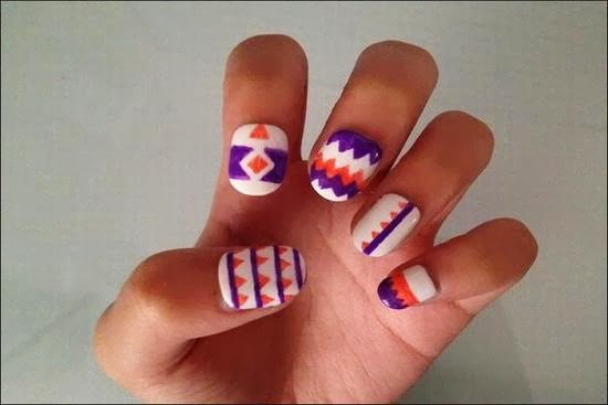 Home » Nail Art Rayan Nail Art Aztec Collection
