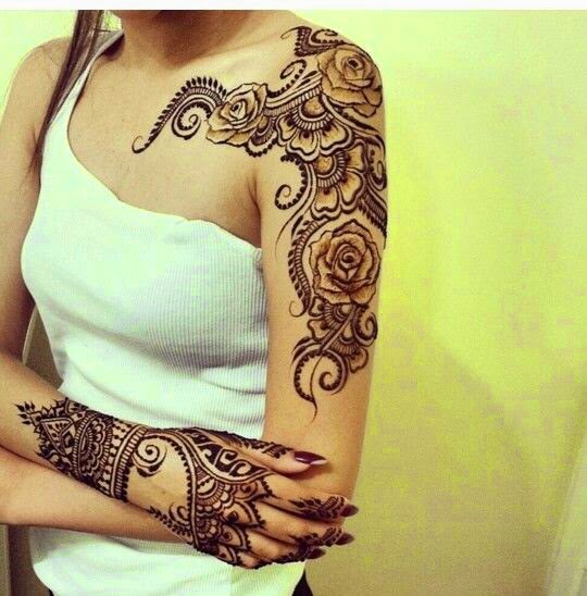 Mehndi Arm Tattoos : Henna tattoo