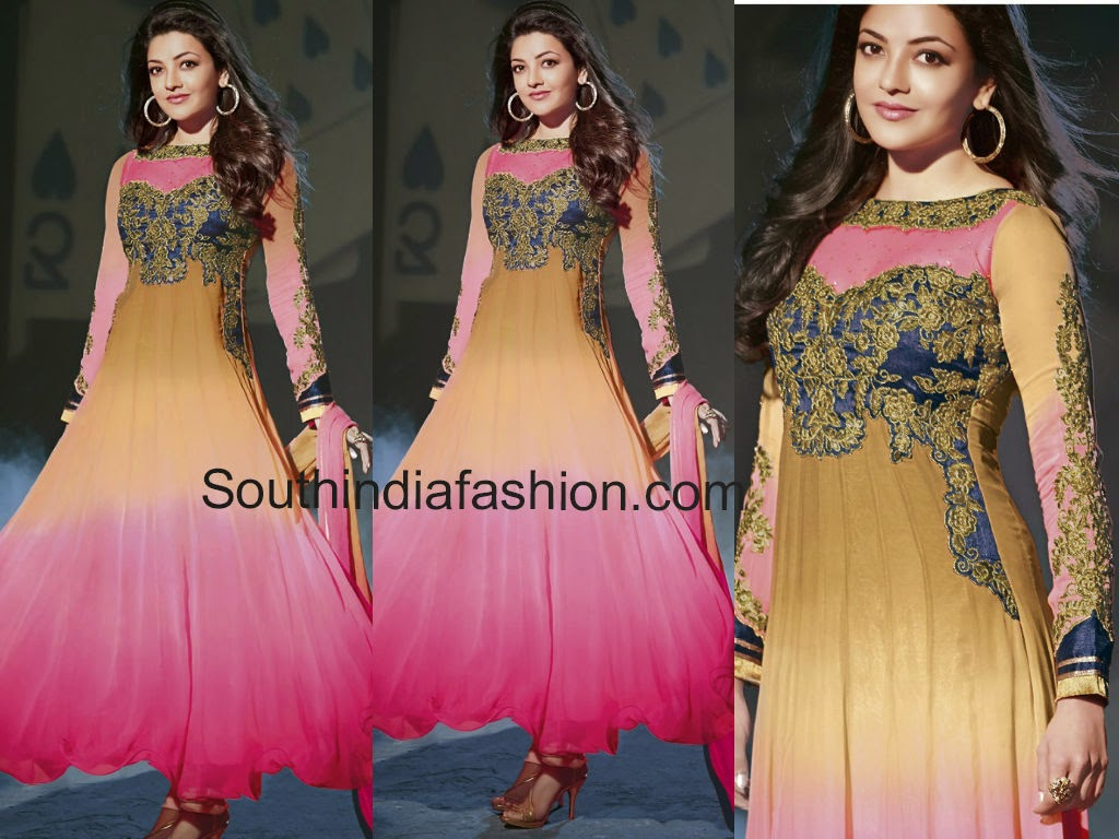 kajal agarwal anarkali suits
