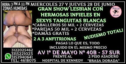 MIERCOLES 27 Y JUEVES 28 DE JUNIO DE 3 PM A 11 PM RUMBA SW CON LINDAS CHICAS