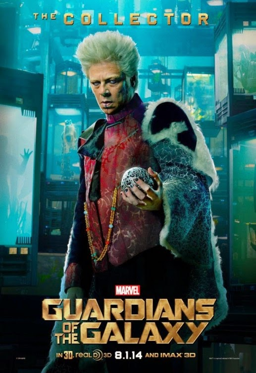 "Guardians of the Galaxy ""Villains"" Character Movie Poster Set - Benicio del Toro as The Collector"