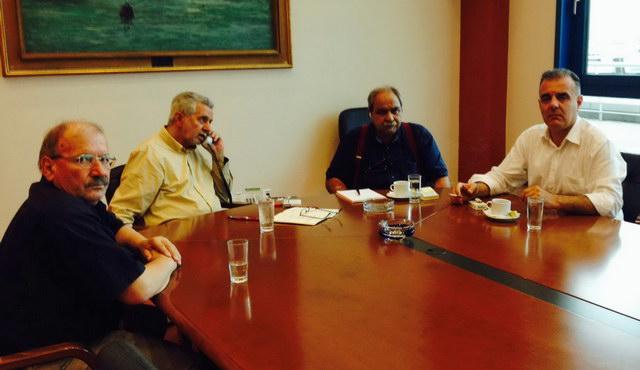 Επαφές Δημάρχου Σαμοθράκης σε Υπουργεία για την πρόοδο των κρίσιμων θεμάτων του νησιού