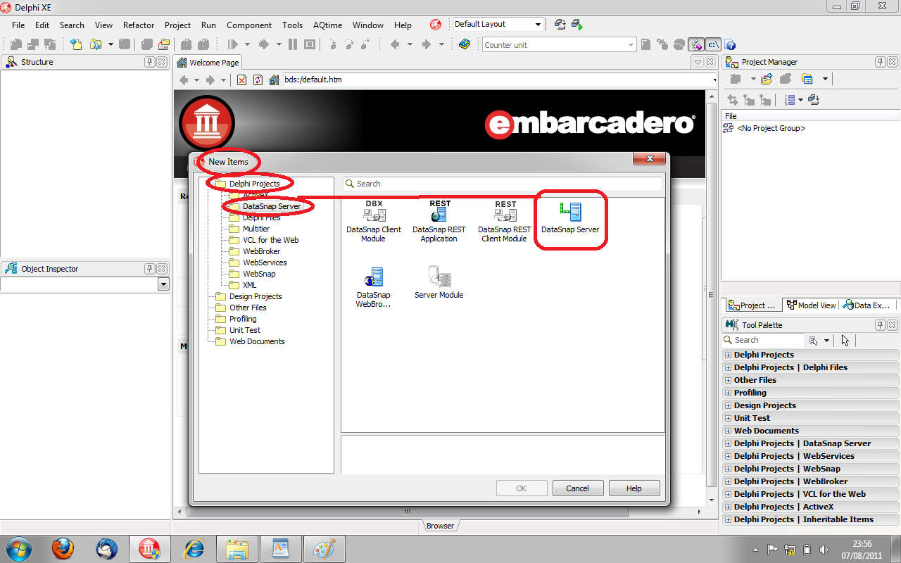 Ejemplo: Aplicación con BASE DE DATOS de 3 de capas multihilo con ...