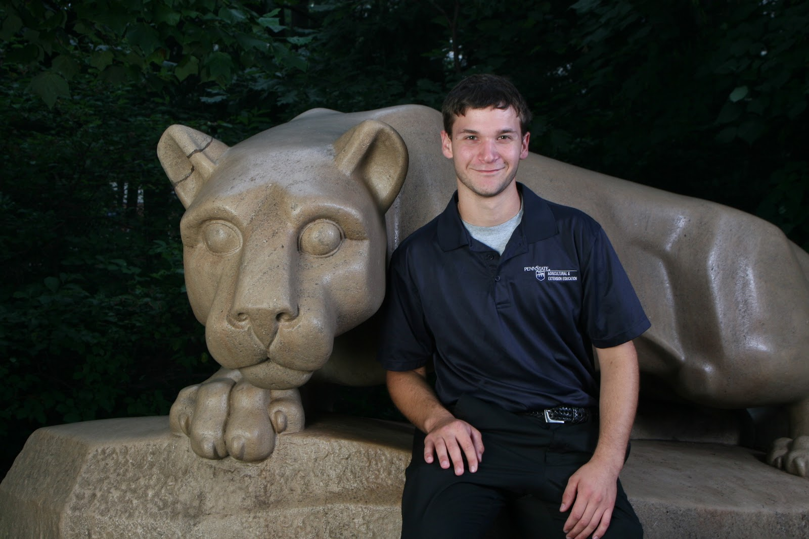 penn state ag ed roars walker student teacher selected as josh walker
