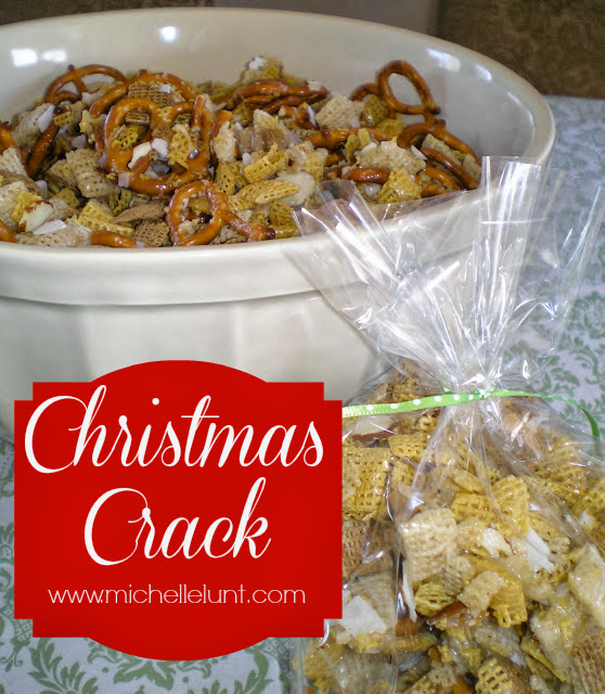 sweet chex mix aka christmas crack - Christmas Crack Recipe Chex