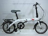 16 Inch Fold-X Sakura 7005 Alumunium Alloy Folding Bike