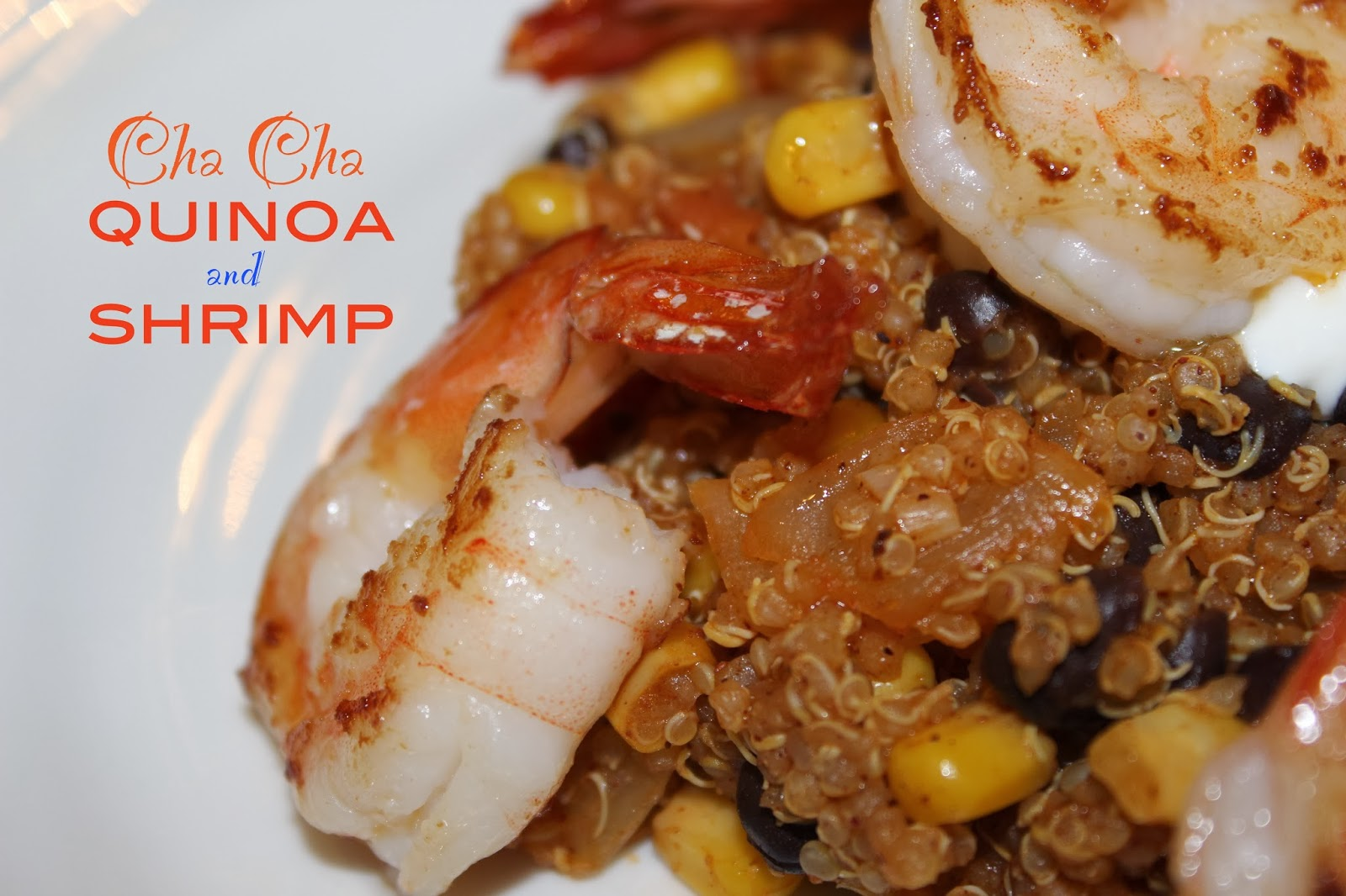Healthy Quinoa and Shrimp