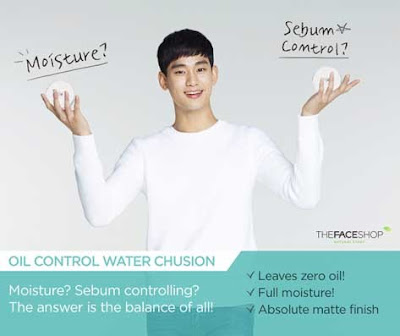 THEFACESHOP Oil Control Water Cushion