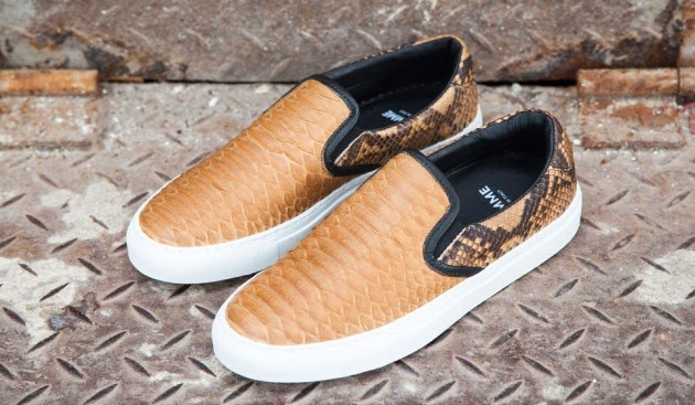 snake print slip on sneakers, trend 2014,