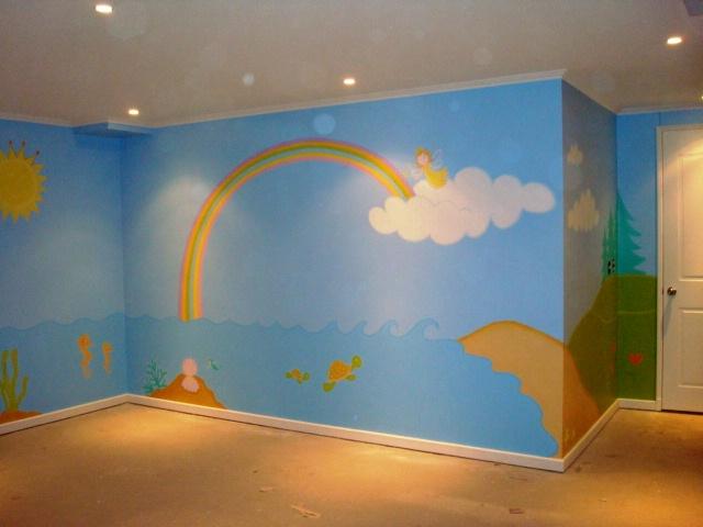 Murales infantiles para kinder imagui for Murales infantiles