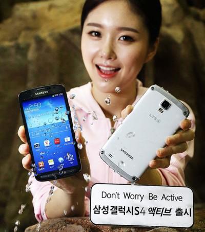 Samsung Rilis Galaxy S4 Active untuk Versi Pasar Lokal